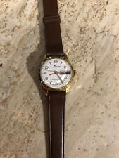 Lady Nelson vintage 1960 wristwatch with double date New Old Stock