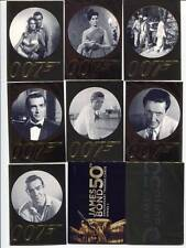James Bond 50th Anniversary Series 1 & 2 Sets 198 Cards Rittenhouse Archives