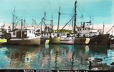 RPPC,Mazatlan,Mexico,Sinaloa,Barcos Pescadores,Fishing Boats,# 50,1950s