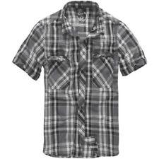 Camisas y polos de hombre gris color principal negro