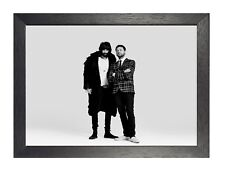 Kasabian 9 English Rock Band Poster Meighan Music Star Picture Black White Photo