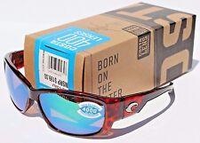 COSTA DEL MAR Luke POLARIZED Sunglasses Tortoise/Green Mirror 400G NEW $199
