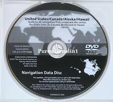 07 08 09 2010 CADILLAC SRX SUBURBAN NAVIGATION NAV GPS DISC MAP CANADA US CD DVD