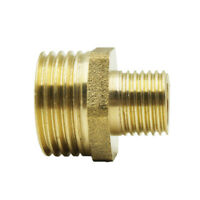 Threaded Brass Tap Adaptor Garden Water Hose Pipe Connector Fittings 13 Sizes