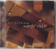 LIVE AT THE WORLD CAFE Vol 37 2014 US 16-trk CD Moby Lissie White Denim SEALED