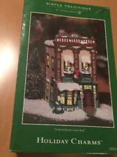 Department 56 Simple Traditions Holiday Charms Treats & Sweets Candy Shop
