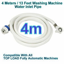 4 Meters 13F Water INLET HOSE PIPE For Fully Automatic Washing Machine Universal
