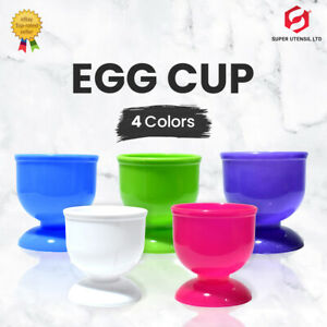 Egg Cups Kids Adult Eggy Soldiers Breakfast Home Kitchen Office Pack of 4