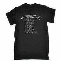 My Perfect Day Bike Cycle T-SHIRT Cycling Jersey Cyclist Funny Gift Birthday