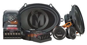 "Memphis Audio PRX570C 5x7"" or 6x8"" 100 Watt Component Car Speakers w/Crossovers"