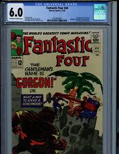 Fantastic Four #44 CGC 6.5 FN+ Marvel Comic Amricons 1st Gorgon K2
