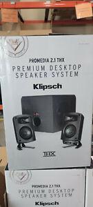 Klipsch ProMedia 2.1 THX Certified Computer Speaker System w/ Subwoofer