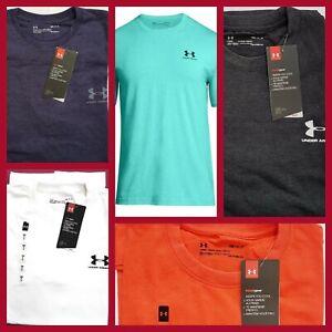 Men's Under Amour Heat Gear Running/Training/Gym/Sport Short Sleeve T-Shirt