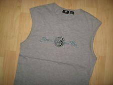 Guess Jeans Tank Top - Gray Scorpion Smoke Logo Muscle Tank Top T Shirt Small
