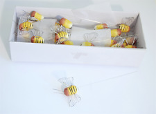 Bumble Bee Pick - Pack of 12 - 3cm - Bridal / Occasional - C5987
