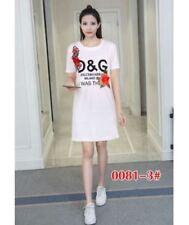 D&G DRESS Embroidered