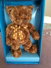Gund Collector'S Bear, handmade exclusively for Macy's, Nib