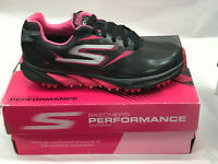 Skechers Go Golf Blade Black/Pink Womens Golf Shoes 11M WATERPROOF Were $100