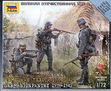 Zvezda #6105 - 1:72 German Infantry East Front 1939-1942 WWII