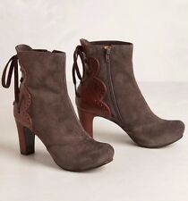 ANTHROPOLOGIE CORRIDOR BOOTIES CHIE MIHARA SHOES PLATFORM ANKLE BOOTS 9.5 $510