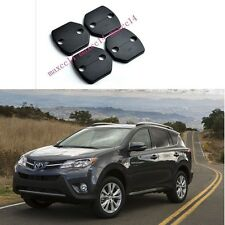 Car accessory Door Lock Buckle Protecet Cover 4PCS For TOYOTA RAV4 2013 2014 15