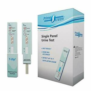 Prime Screen [10 Pack] Nicotine Tobacco Cotinine Urine Test Kit - Urine Dip