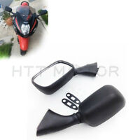 Black Side Rear View Mirrors For SUZUKI GSX1300R HAYABUSA GSXR1000 600 GSX-R750