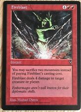 1 Fireblast ~ Red Visions Mtg Magic Common 1x NM/MT