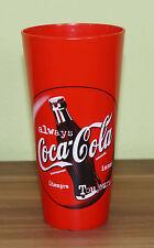 Seltener Coca Cola Becher Rot EVR EV Regensburg Die Eisbären TOP! (HH3)