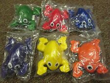 Sportime Indestructible BeanBag FROGS Set of 6 Bean Bag Frog FREE SHIPPING! L@@K