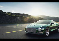 "BENTLEY EXP 10 NEW A4 CANVAS GICLEE ART PRINT POSTER 11.7"" x 8.3"""