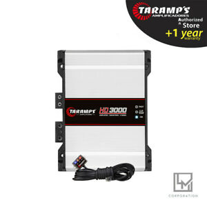 Taramps HD3000 2 Ohms HD 3000 Amplifier Car Audio - Fast Delivery