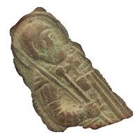 Ca. 900-1600 AD - Orthodox Icon Relic Artifact Authentic Medieval Jesus Image B