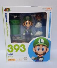 Luigi Nendoroid 393 - Good Smile Company Nintendo Super Mario Bros - Mint in Box