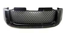 02-08 GMC ENVOY GLOSS BLACK FRONT HOOD BUMPER BENTLEY STYLE GRILL GRILLE
