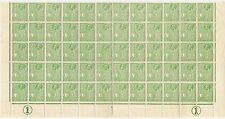 George V (1910-1936) Sheet Maltese Stamps (Pre-1964)