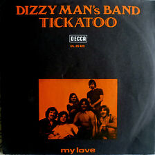 "7"" 1970 GERMAN PRESS RARE VG+++ ! DIZZY MAN´s BAND : Tickatoo"
