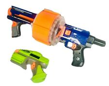 NERF Bundle - Strike Elite Rampage Gun, 25 Round Drum, Tactical Crossfire Pistol