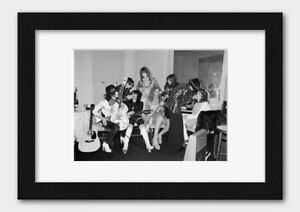 The New York Dolls - Live at the Biba Party 1973 Print 2