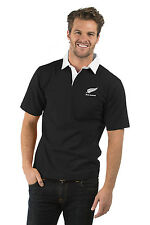 "NEW ZEALAND RUGBY SHIRT, SHORT SLEEVE , SIZE L (48""), BIRTHDAY GIFT, GIFT IDEA"