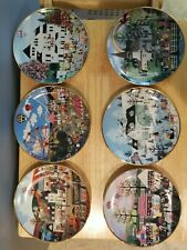 Jane Wooster Scott The American Folk Art Collection Six Plates