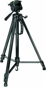 Prima PHKP001 Aluminium Tripod & 3 Way Head Kit Photo Zoom Phone Mount