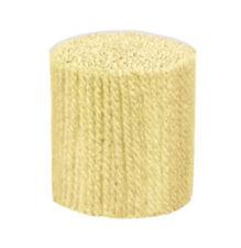 """Latch Hook Yarn - Ecru Approx 400 strands 3ply 2.5"""" long Use on 4.5hpi canvas"""
