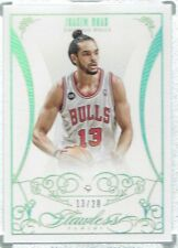 JERSEY #'d 2013/14 PANINI FLAWLESS JOAKIM NOAH DIAMOND SEALED CARD #13/20 BULLS