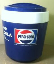 Vintage RARE Pepsi Cola Made in England Ice pail bucket insulated