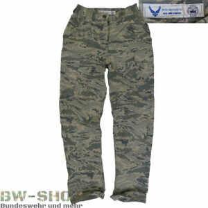 ORIGINAL US ARMY AIR FORCE FELDHOSE ABU CAMO TARN HOSE USAF KAMPFHOSE CAMOUFLAGE