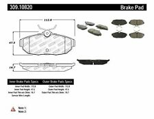 Disc Brake Pad Set-Shelby GT500 Rear Stoptech 309.10820 fits 2005 Ford Mustang