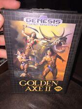 Golden Axe II 2 (Authentic) (Sega Genesis, 1991) W/Case