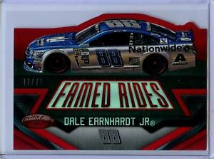 2016 Panini Certified Famed Rides MIRROR RED Parallel Dale Earnhardt Jr #47/75