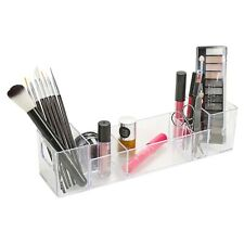 Make Up Cosmetic Toiletry Desktop Clear Plastic Organizer Storage Box Tidy Case